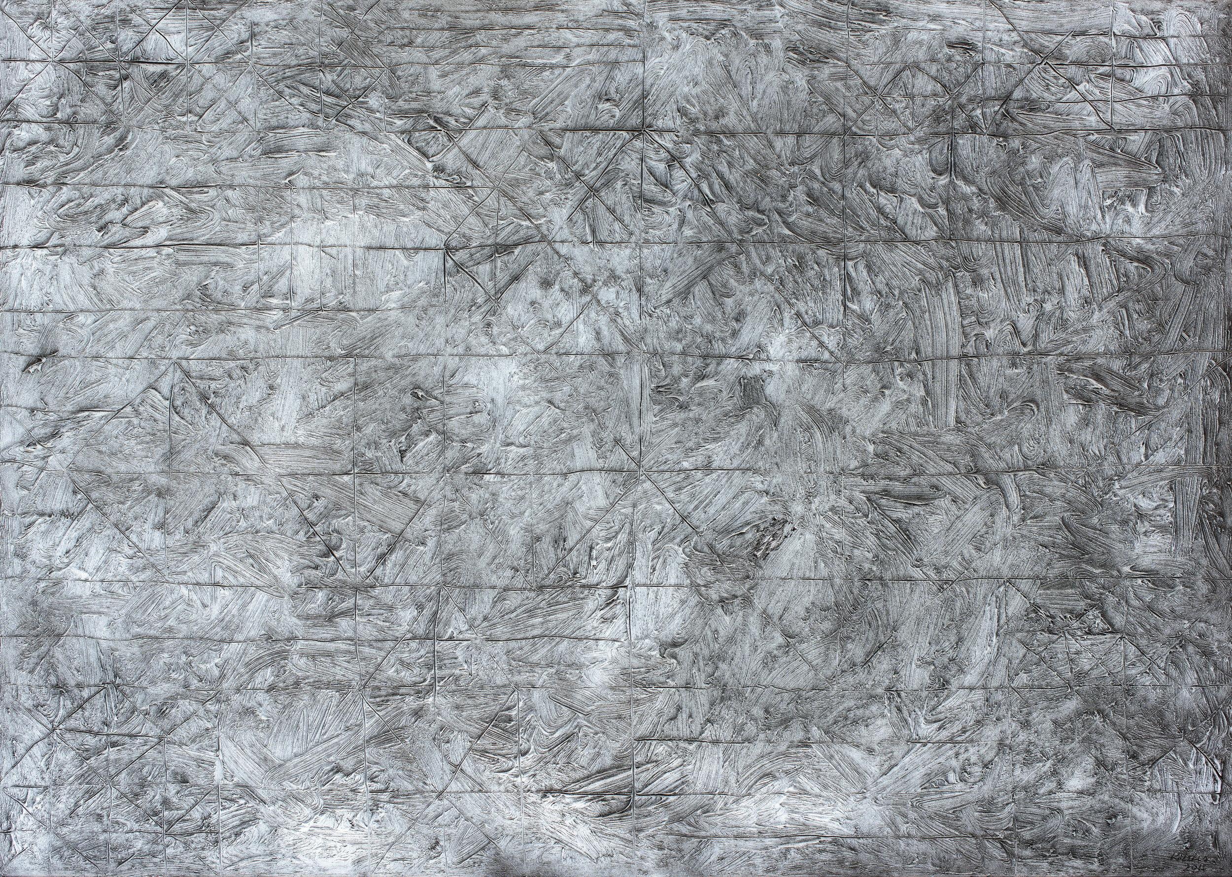Mater nr. 7, 2015, ulei pe pânză, 100 x 70 cm