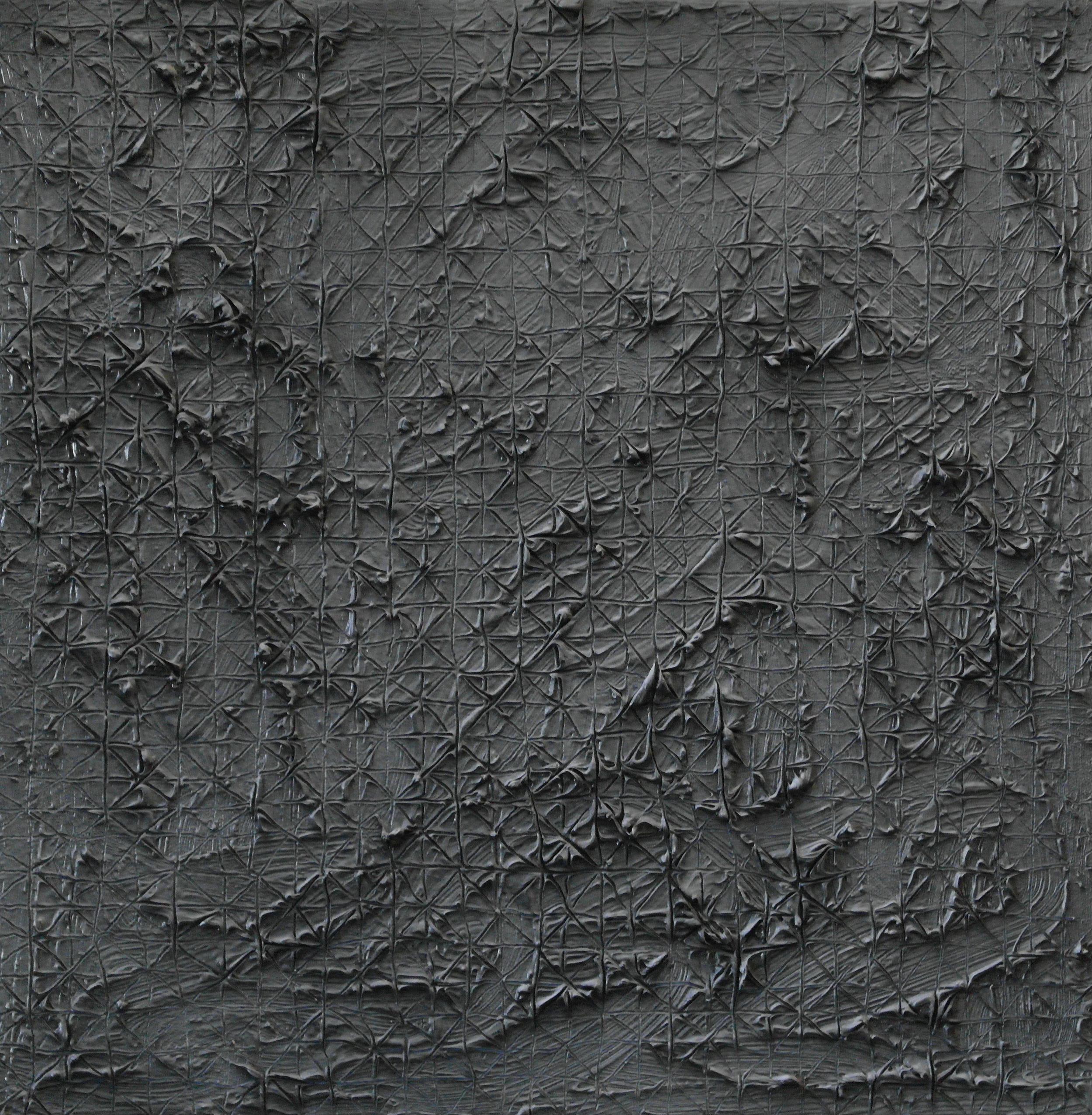 Mater nr. 2, 2015, ulei pe pânză, 40 x 40 cm