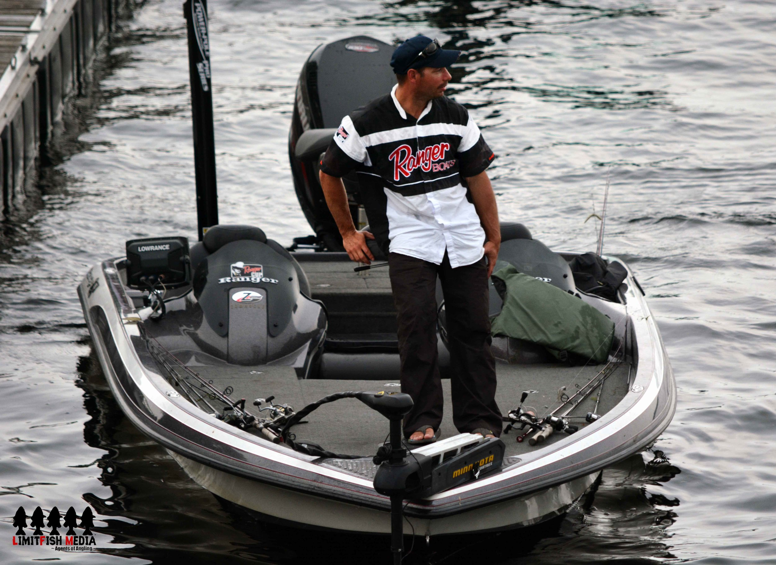 Angler at work