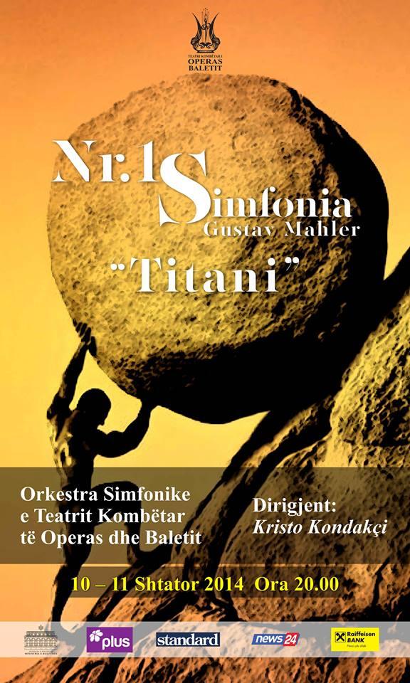 Mahler Concert Poster