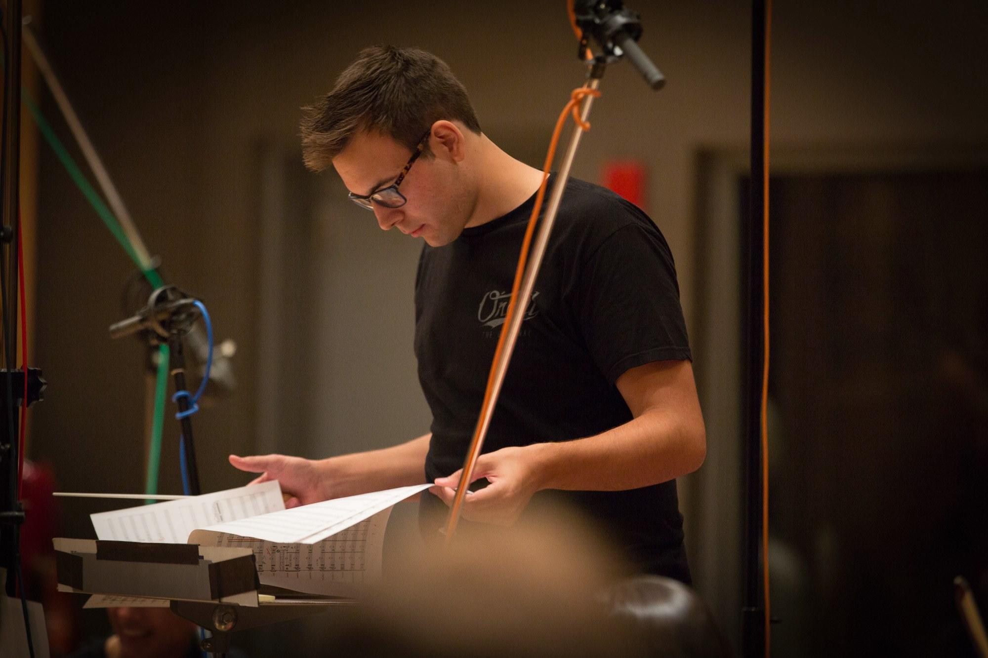 Recording Session, Sept. 2015