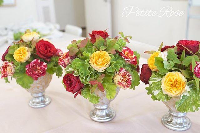 前回の吉祥寺イベントレッスン🌹 ・ 基本のラウンドアレンジ。 ・ 華やかなバラを贅沢に使ってゴージャスアレンジ✨ ・ ゴールドとシルバーのエレガントな花器にもぴったりな、素敵なアレンジになりました♡ ・ 次回は12/15(土)です♪ ・ #flowers #flowergift #flowershop #flowerschool #flowerstagram #吉祥寺 #吉祥寺フラワー #吉祥寺フラワーアレンジメント #吉祥寺フラワーレッスン #フラワーレッスン #フラワー #フラワーアレンジ #フラワーアレンジメント #吉祥寺大好き #花のある暮らし#花教室 #吉祥寺花教室 #petiterose #ワークショップ #習い事 #かわいい #オシャレ #ラウンドアレンジ #ラウンドアレンジメント
