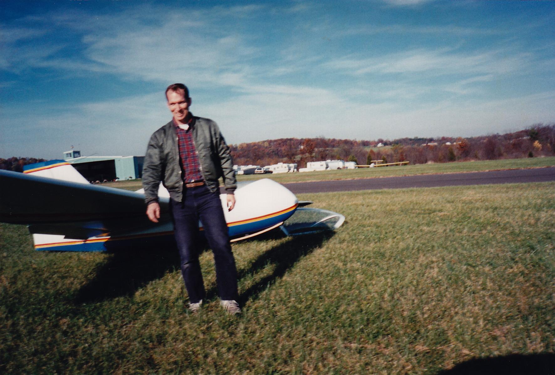 First Flight after landing 1994.jpeg