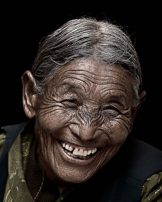 Dolma Yangzom 87 years old from Tibet , Diaspora Smile is an ongoing portraits project that capture the joy of Tibetan refugee after they receive an blessing from His Holiness Dalai Lama. #tibet #diaspora_smile #pilgrimage #world #buddhist #peaceful #mindfulness #life #oldpeople #spiritual  #art #wisdom #inspiration #happiness #smile #india #happy  #photography #travel #oldbeauty #canon #instagram  #portraitphotography  #photooftheday #portraits_mf #endlessfaces #SDMfeatures #photographyisart #OfHumans #portraitsvisuals