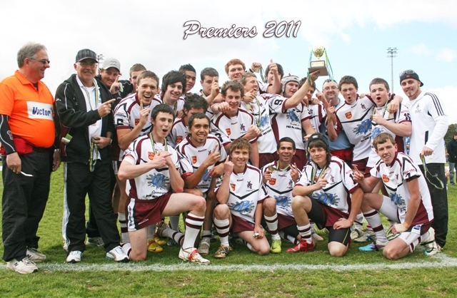 queanbeyanunder18's celebrate[premiershipwin