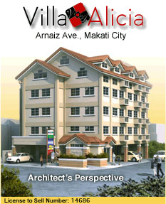Villa Alicia - Arnaiz Ave, Makati City