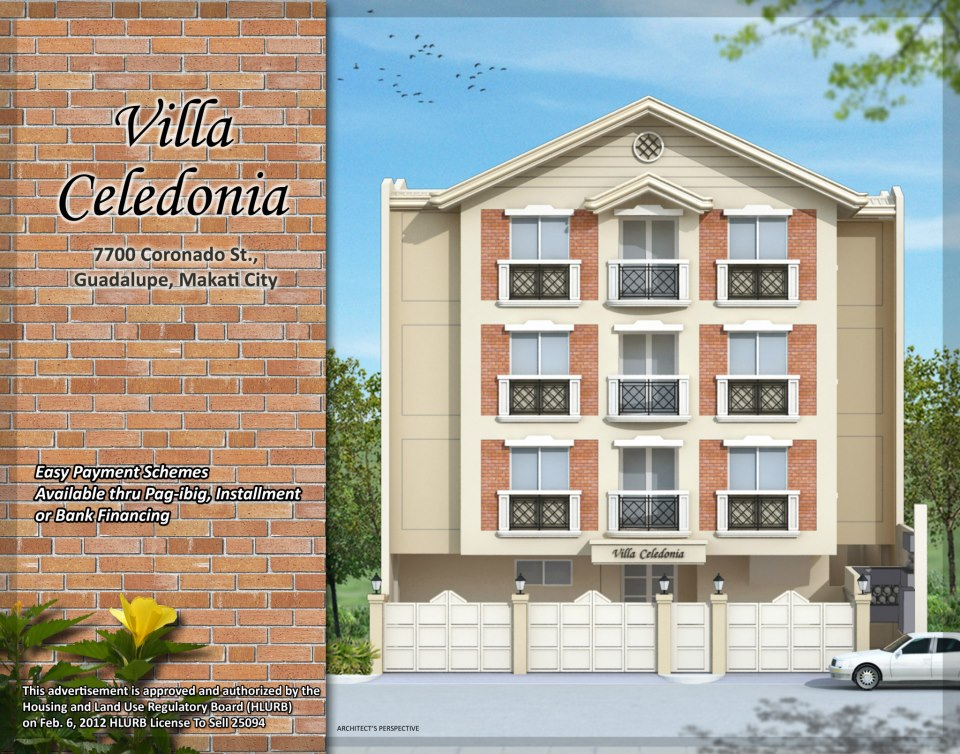 Villa Celadonia - Coronado StreetGuadalupe, Makati City
