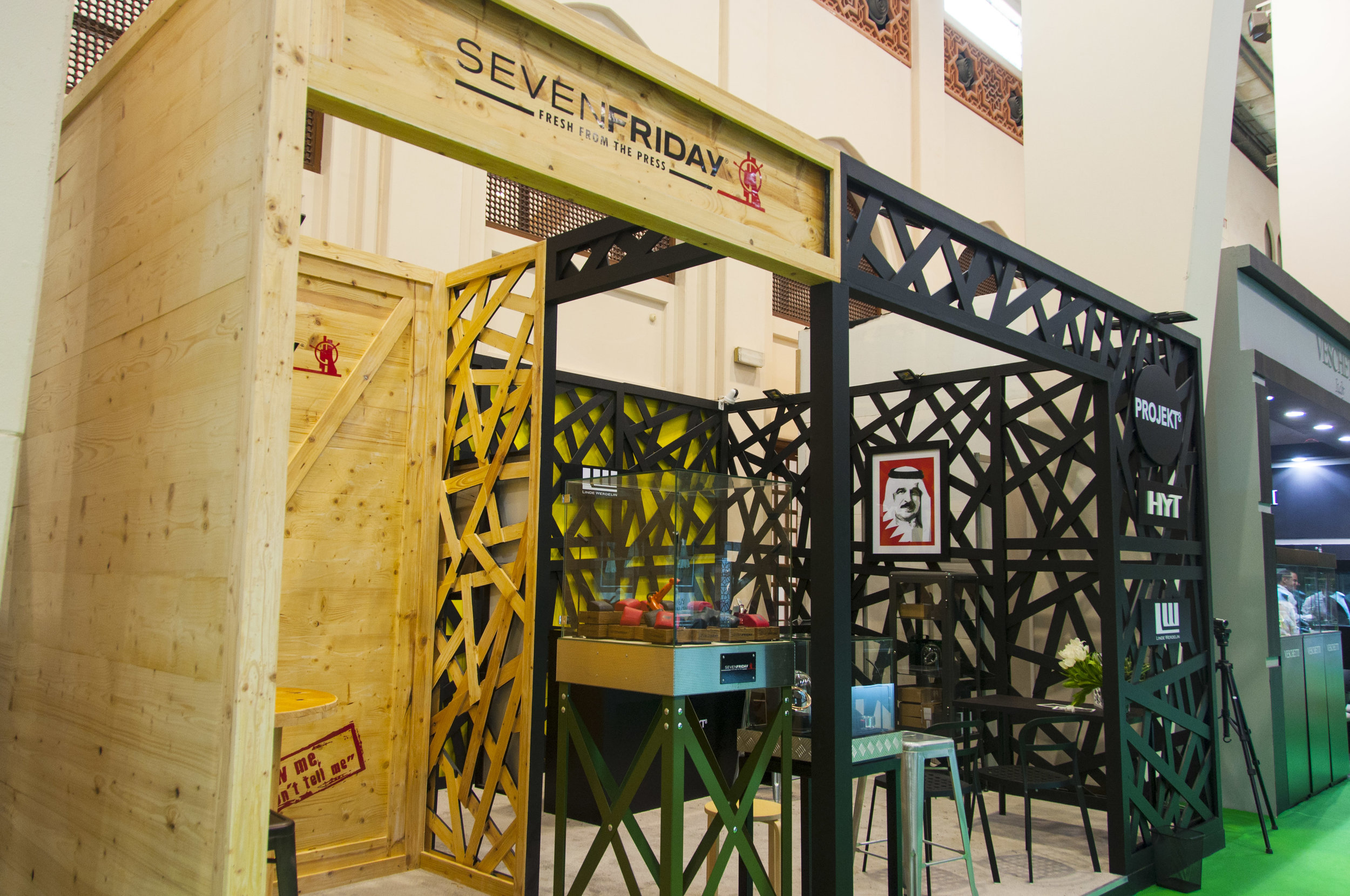 SevenFriday - Jewellery Arabia 2015