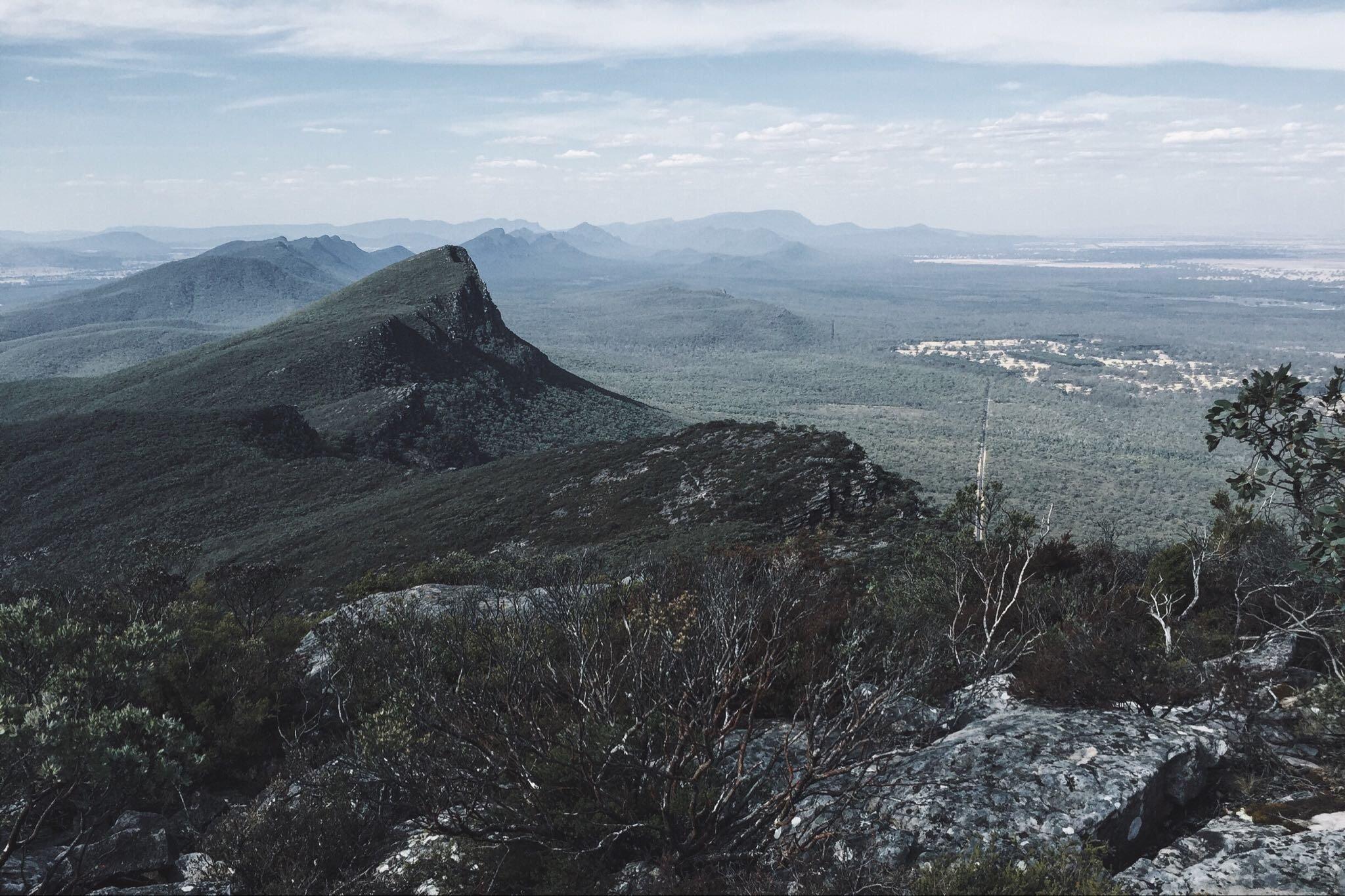 Overlooking the Serra Ranges