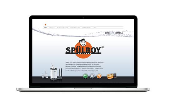 WEB DESIGN   für Spülboy