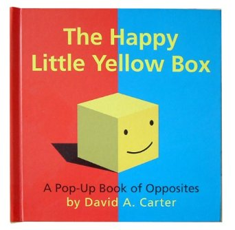 A pop up book of opposites by David A Carter - Learning through storytelling, interactions and play