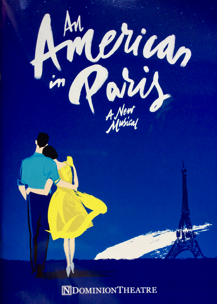An American in Paris Programme Cover.png