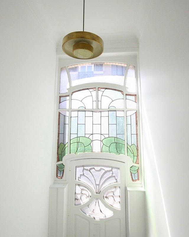 Equuss Project - House in Brussels www.equuss.be #renovation #artnouveau #equuss #interiordesign #architecture #belgium