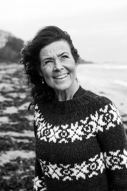 Joan Ørting portræt