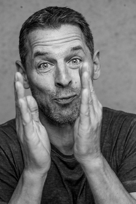 Michael Birkkjær - portræt af Flemming Leitorp