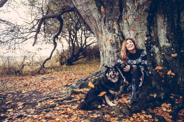 Portræt af Joan Ørting til Samvirke 2014
