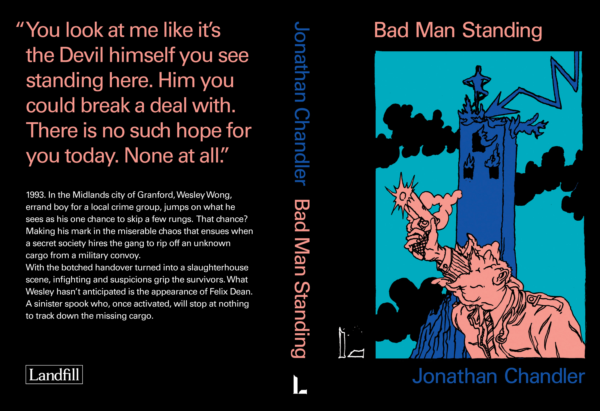 Jonathan Chandler Bad Man Standing