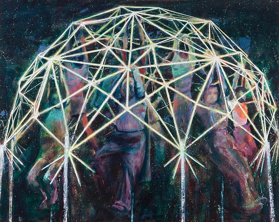 2010 oil on canvas