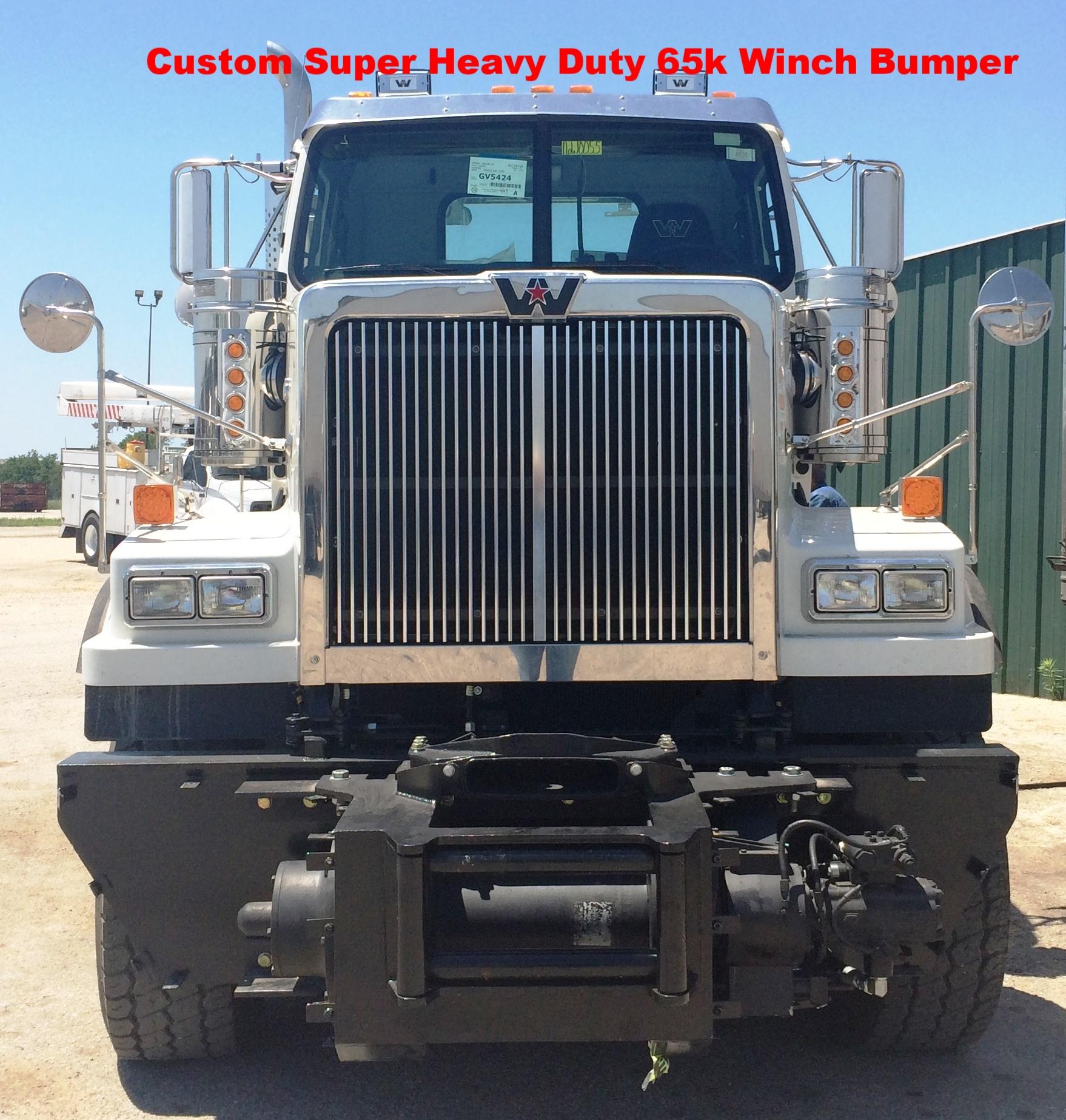 Custom Winch Bumper