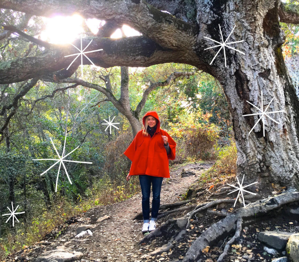 """Me in the forest in Big Sur with a sprig of Wood Sorrel.                     0   false       18 pt   18 pt   0   0     false   false   false                                        /* Style Definitions */ table.MsoNormalTable {mso-style-name:""""Table Normal""""; mso-tstyle-rowband-size:0; mso-tstyle-colband-size:0; mso-style-noshow:yes; mso-style-parent:""""""""; mso-padding-alt:0in 5.4pt 0in 5.4pt; mso-para-margin:0in; mso-para-margin-bottom:.0001pt; mso-pagination:widow-orphan; font-size:12.0pt; font-family:""""Times New Roman""""; mso-ascii-font-family:Cambria; mso-ascii-theme-font:minor-latin; mso-fareast-font-family:""""Times New Roman""""; mso-fareast-theme-font:minor-fareast; mso-hansi-font-family:Cambria; mso-hansi-theme-font:minor-latin;}         Last month I turned 35. I celebrated the fifth seven-year cycle of my life and felt proud of the work I've done in the name of consciousness—for the last seven years in particular. Every year I try to take stock of how I've moved through life. I encourage this in my clients as well: yearly, with the moon, anniversaries,   any cycle that feels relevant. What changed? What did   I  create? Where did I get stuck? Where did I get free?      In turning 35, I reflected on my 20s—what now   feels like an entire other lifetime. Such a different era, yet it was leading me to exactly where I need to be, which is here and now. As   I wrote   in my  previous post about perfection in chaos, there was a time when I was in a perpetual state of regret about the past.  I  believed that my lack of perfection was the reason for my present suffering. Last month, I realized the other bind this pattern of thinking puts us in: If you never trust how you showed up to life in the past, and you believe that it defines your present experience, you'll always feel doomed. Moonlight Elecampagne   and  Honeysuckle flower essences were part of this revelation for me. And as for creating what you want, well, that's pretty tricky if you're only focusing on the past and th"""