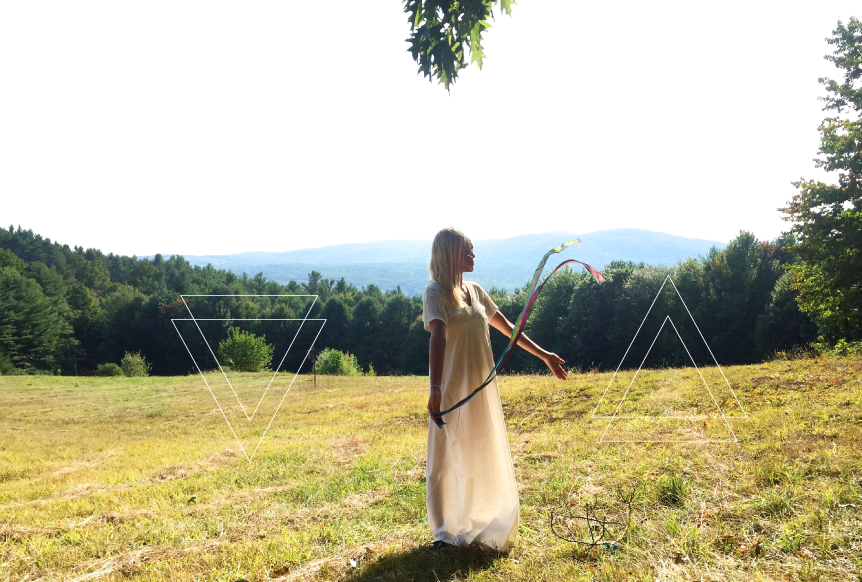 In the fields of Vermont, end of Summer 2016