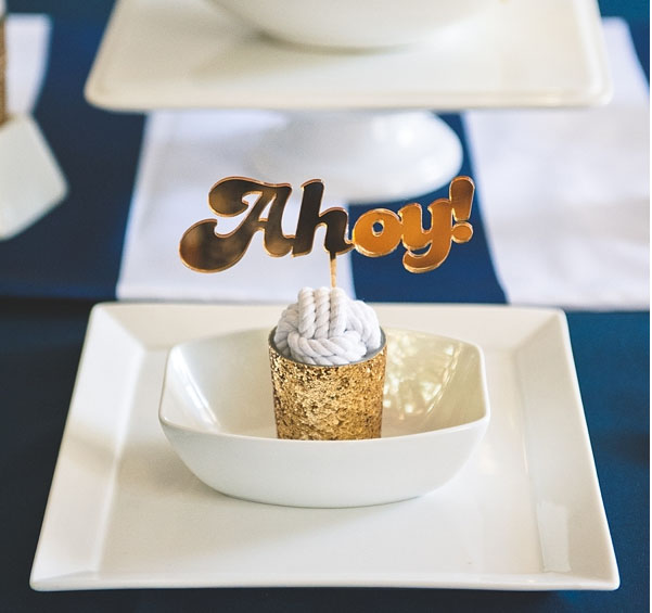 Form the Tidewater and Tull blog in July, 2014.....our gold laser cut wedding cake topper! Check it out Photos are by    Bit of Ivory.