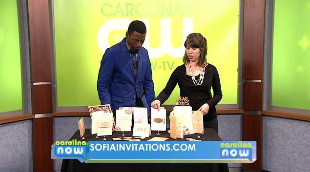In February of 2014, Sofia was on Studio 62, a news show on the CW network in Upstate South Carolina.