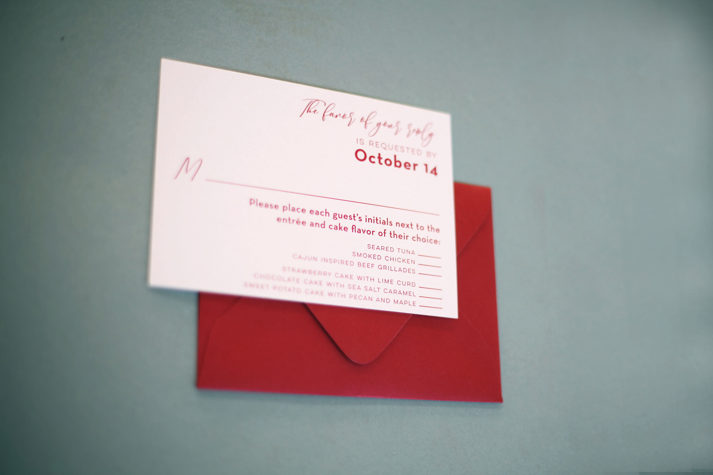 Acrylic Wedding Invitations Details