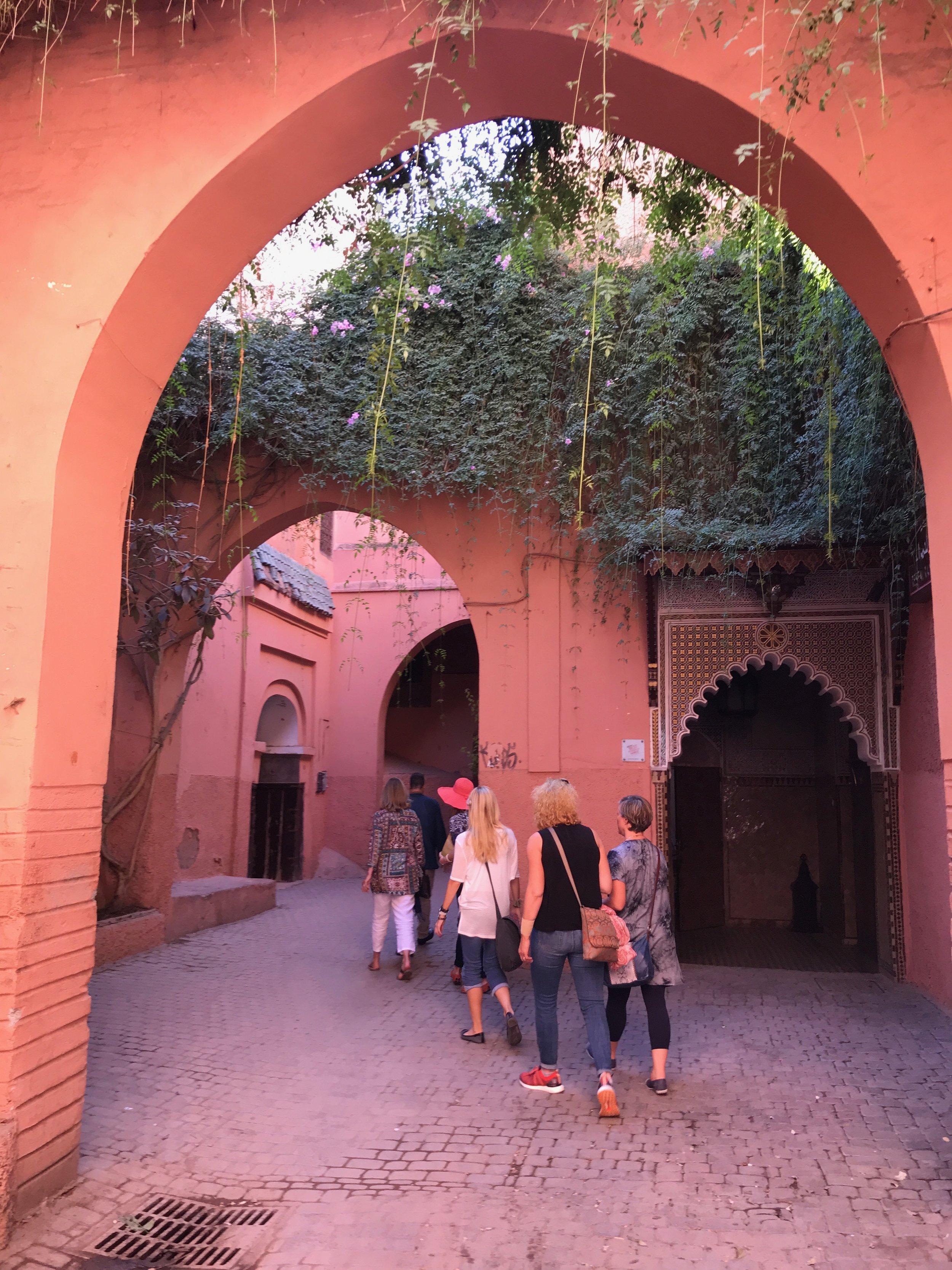 Wandering the twists of the Marrakech medina