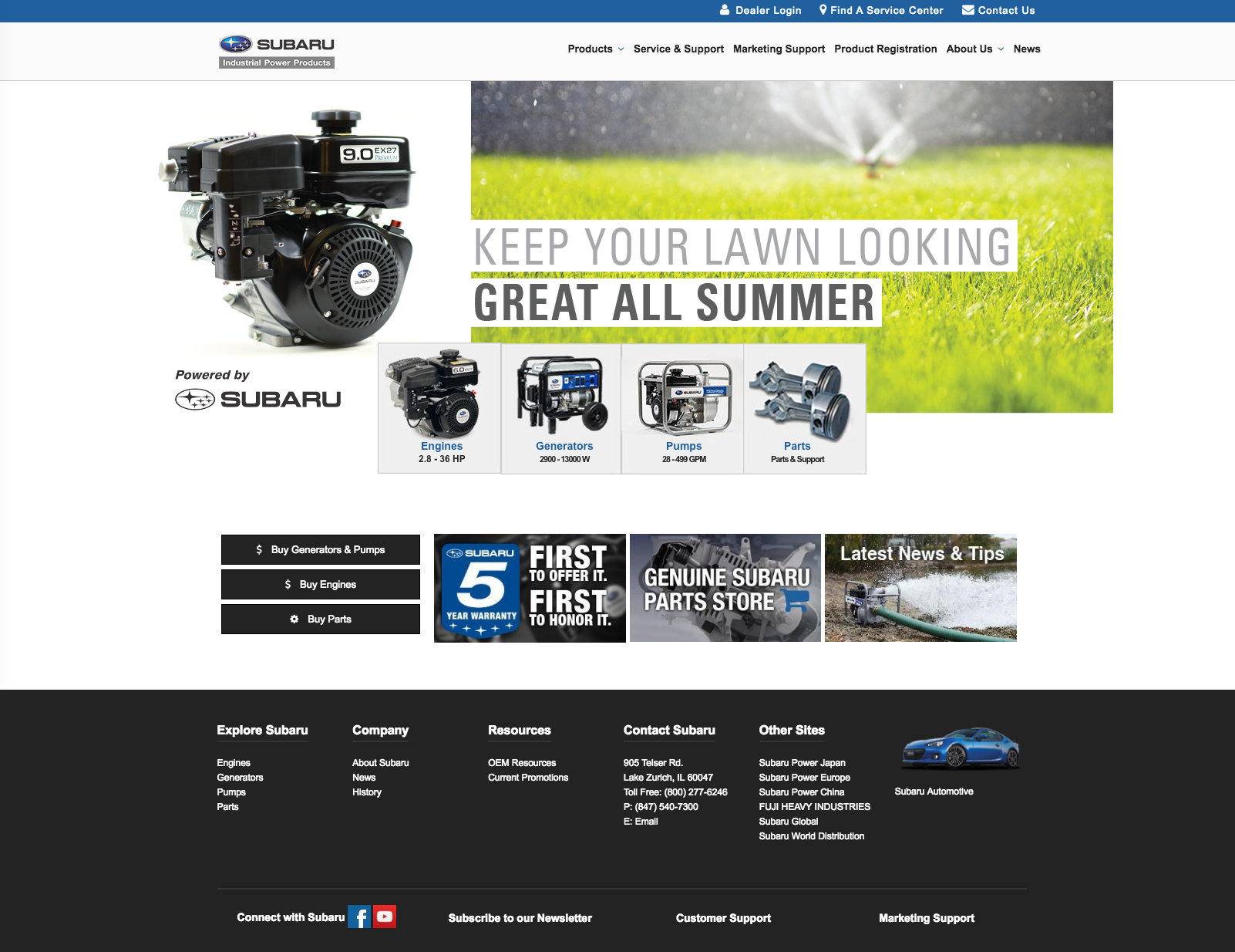 Lawncare Slider Image