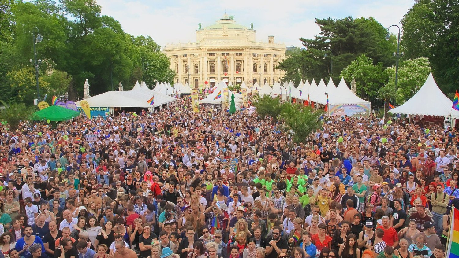 March with us in Vienna! - This year Vienna will be the home of EuroPride 2019, with the march taking place on 15 June under the motto of