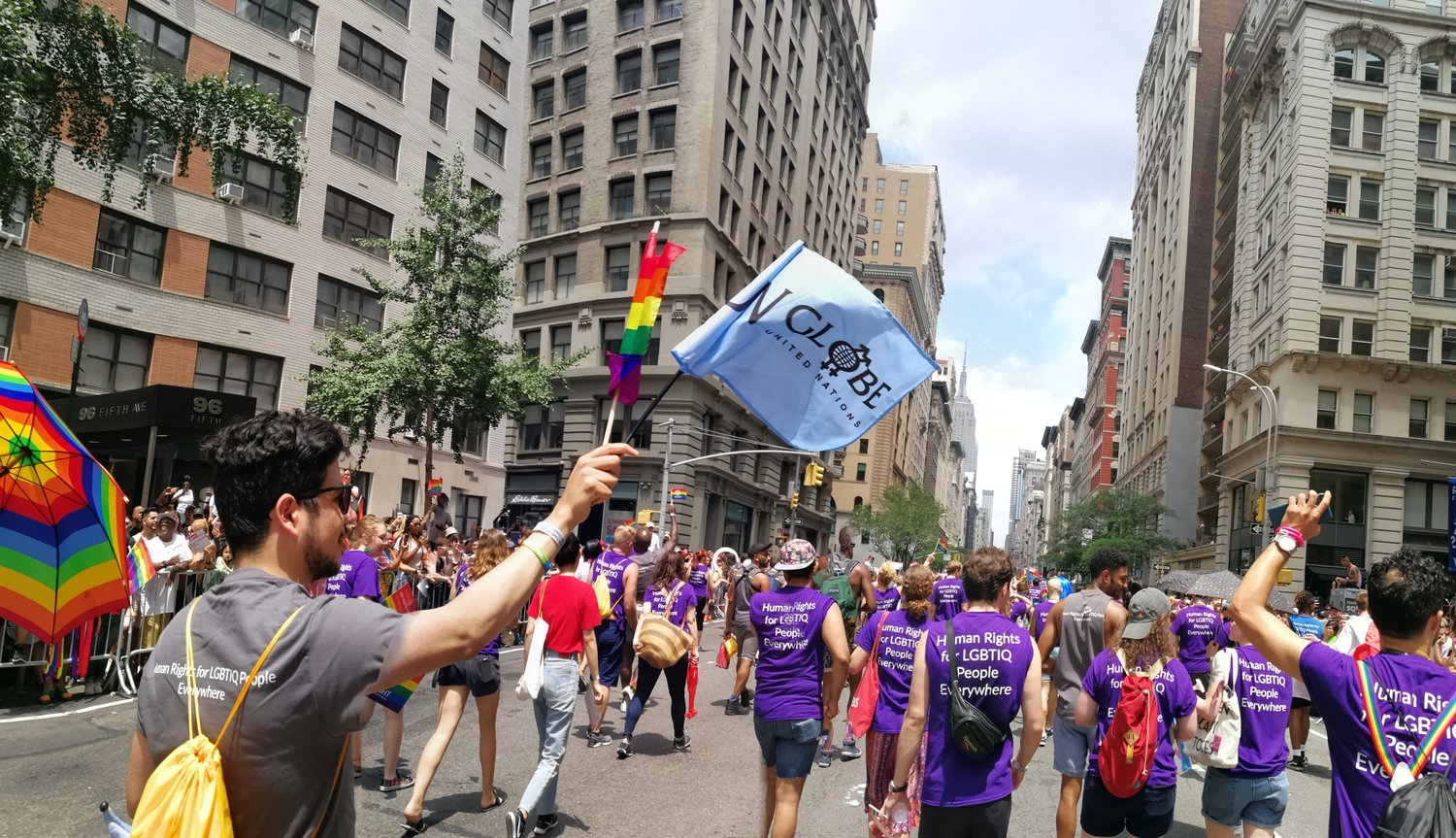 March with us in New York City - New York will mark the 50th anniversary of the Stonewall Riots by hosting World Pride, the centerpiece of Pride celebrations worldwide. Pride is an opportunity to take a stance against discrimination and violence towards people of the LGBTIQ+ community worldwide.