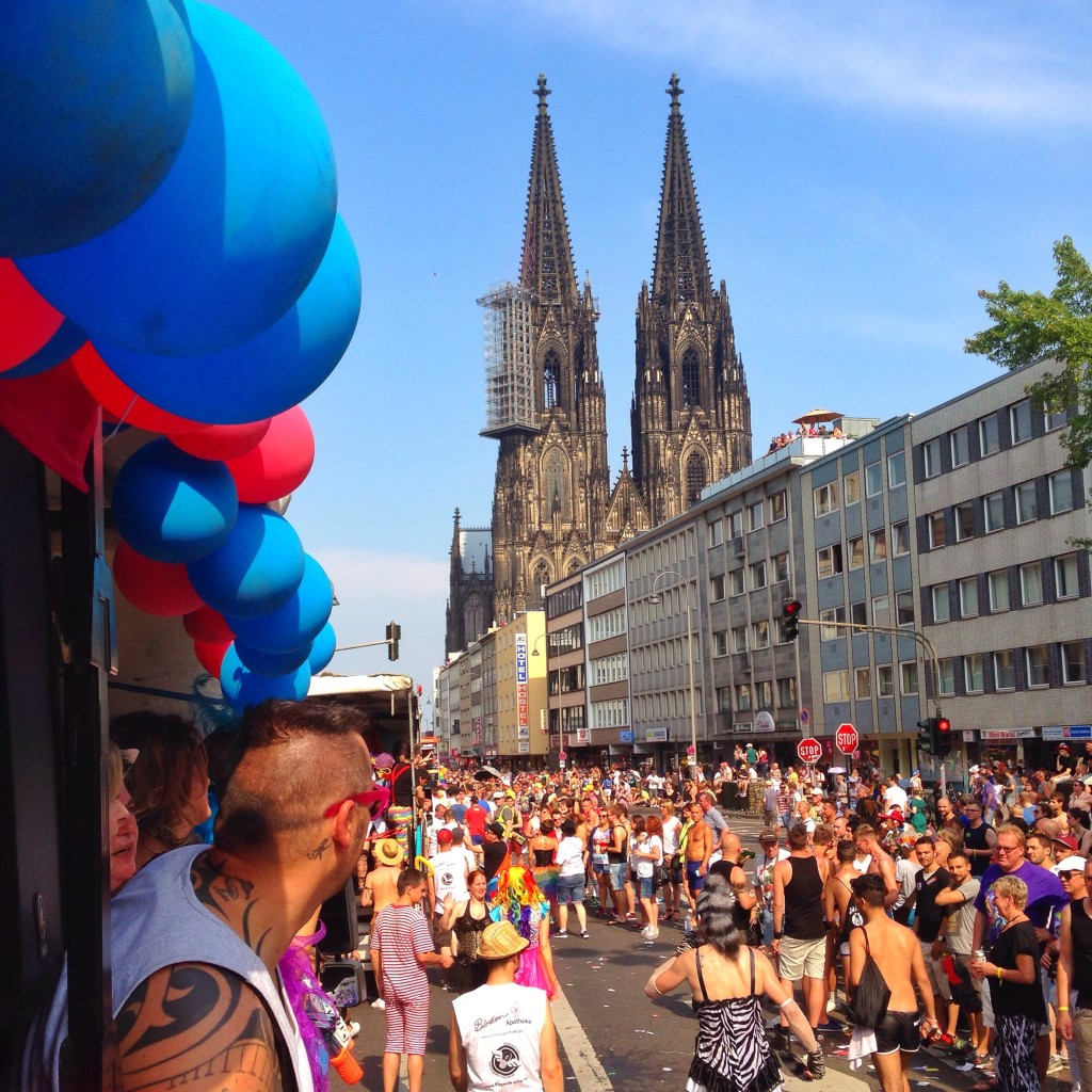 March with us in Cologne - Demonstrating together and speaking out for our claims make up the success of Cologne Pride, as well as its impact on society and politics. Pride is an opportunity to take a stance against discrimination and violence towards people of the LGBTIQ+ community worldwide.