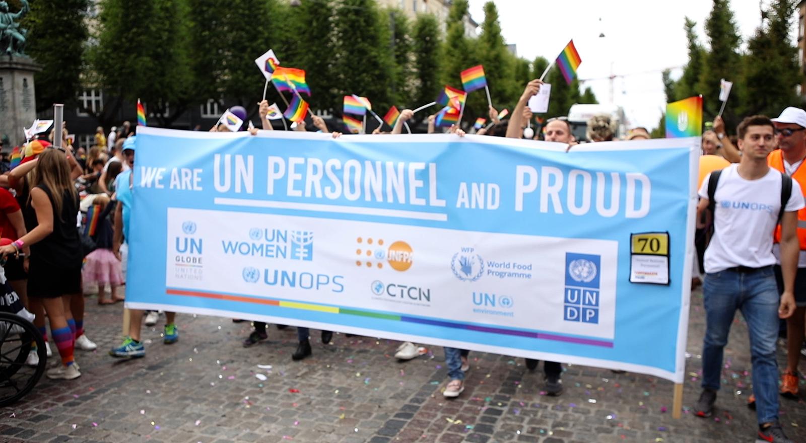 March with us in Copenhagen - Be #UNPersonnelProud!