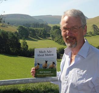 Bob Kennard near his home in mid-Wales