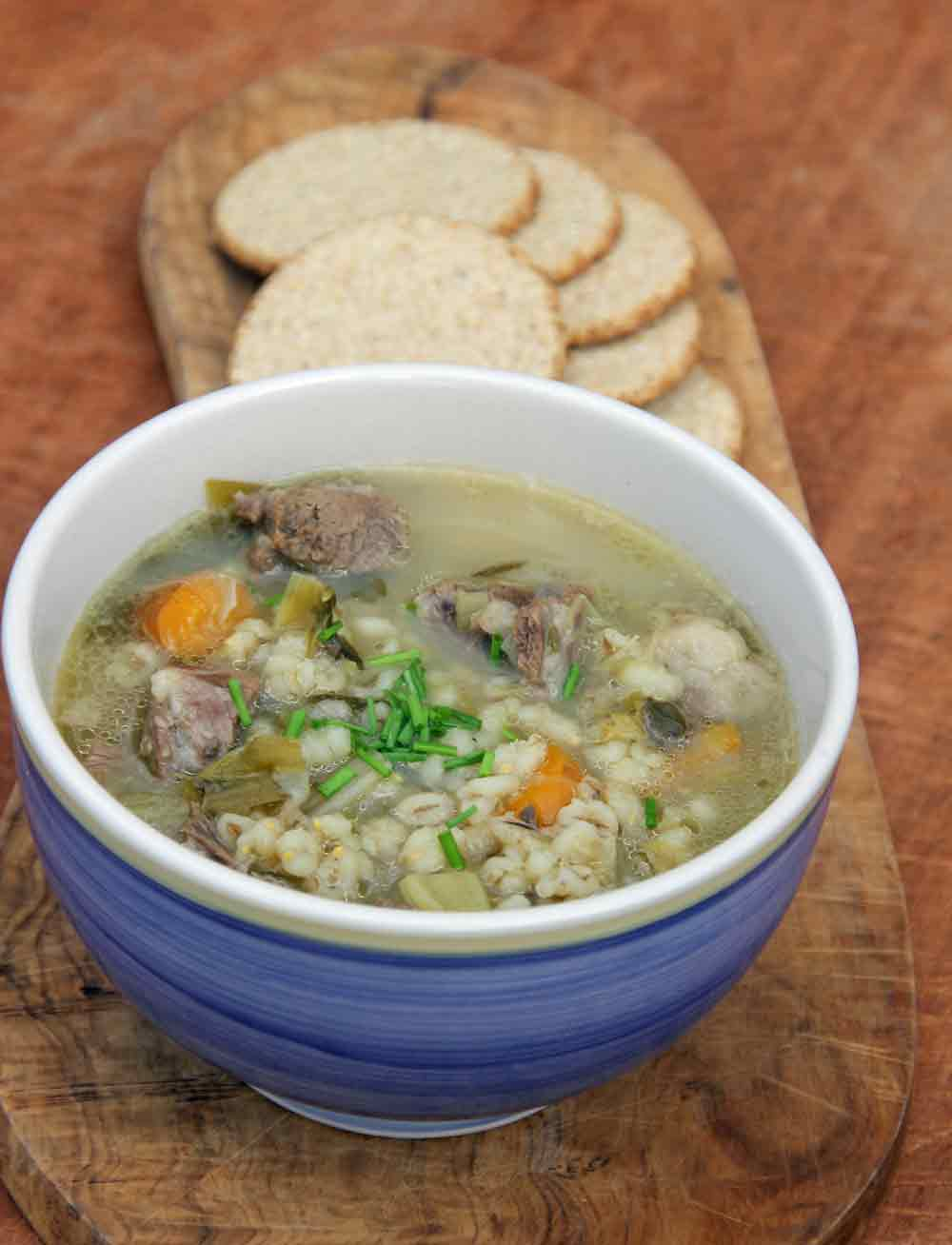 Traditional Mutton Broth