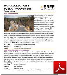 Data Collection & Public Involvement