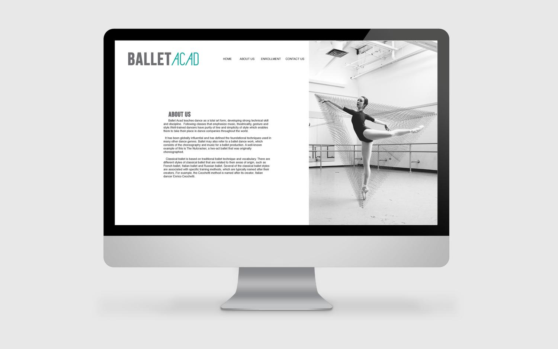 Ballet Acad Dance Industry Creative Branding Development Stationary Design Miami Creative Designer Graphic Design Web Development Photography Isabel Castro