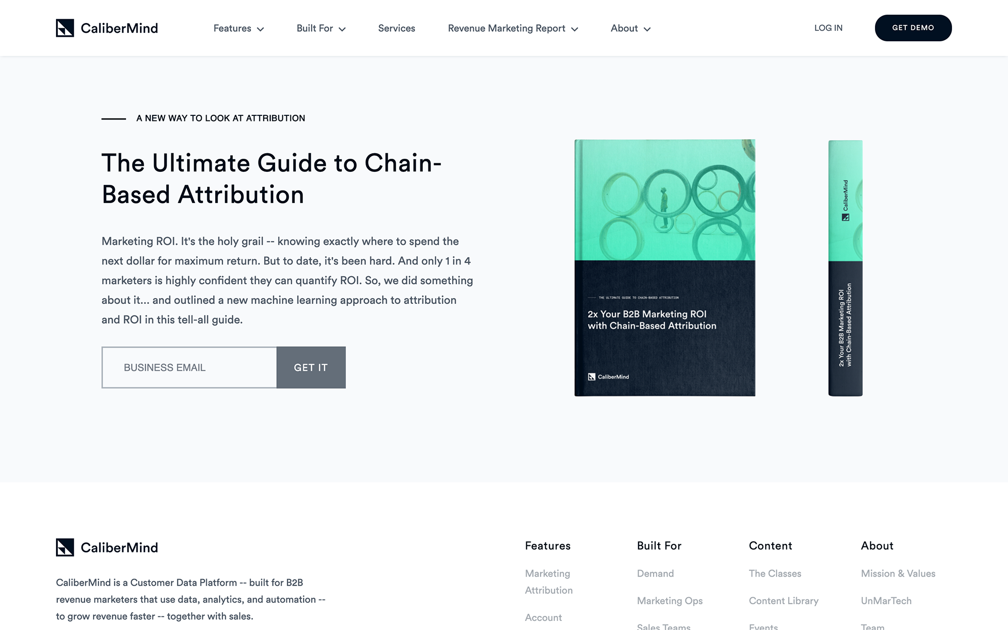 Photography  - The Ultimate Guide to Chain-Based Attribution - CaliberMind