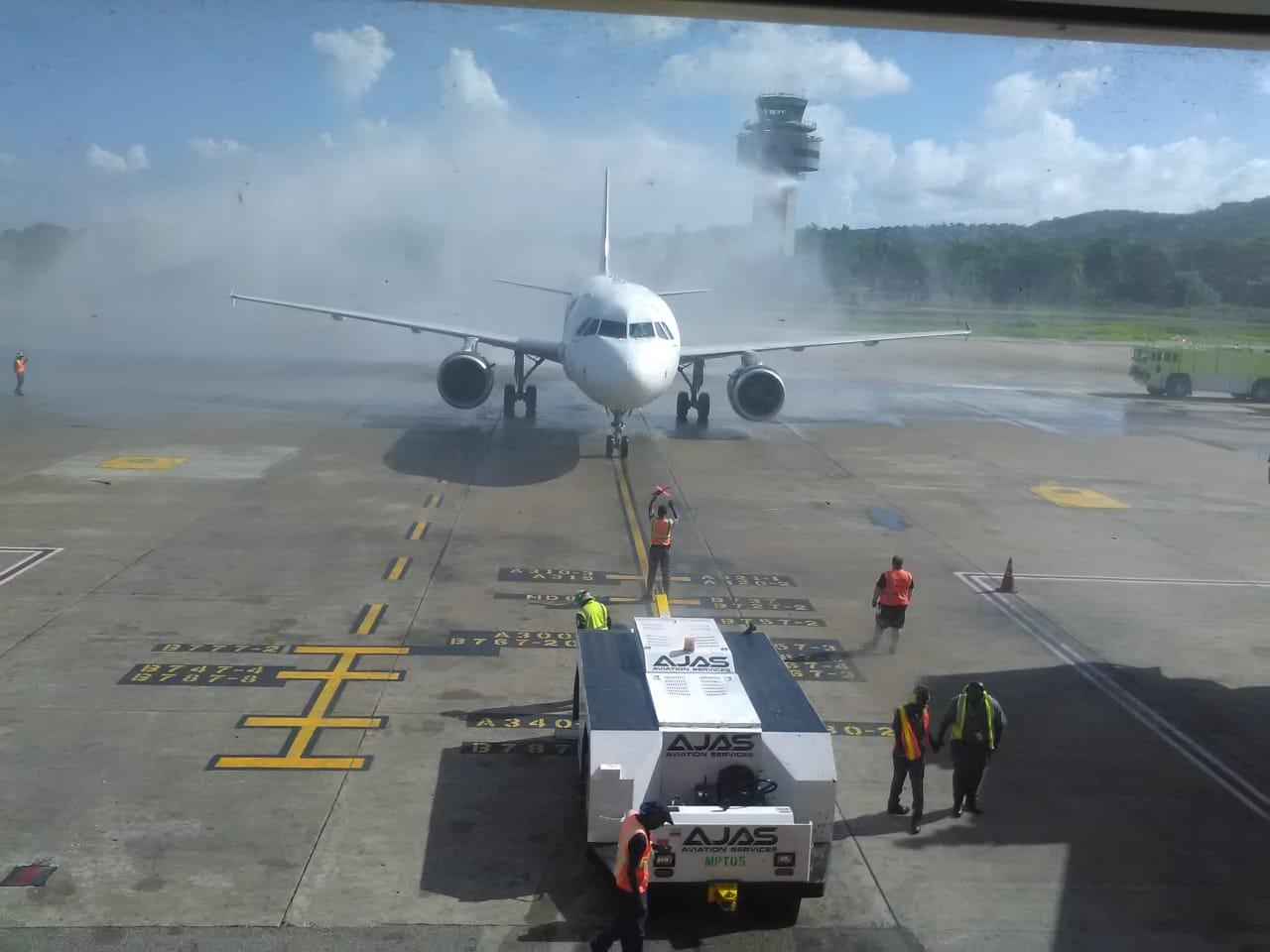 frontier airlines MBJ