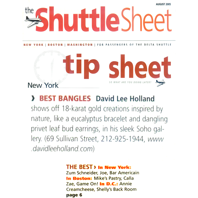 Delta Shuttle Sheet