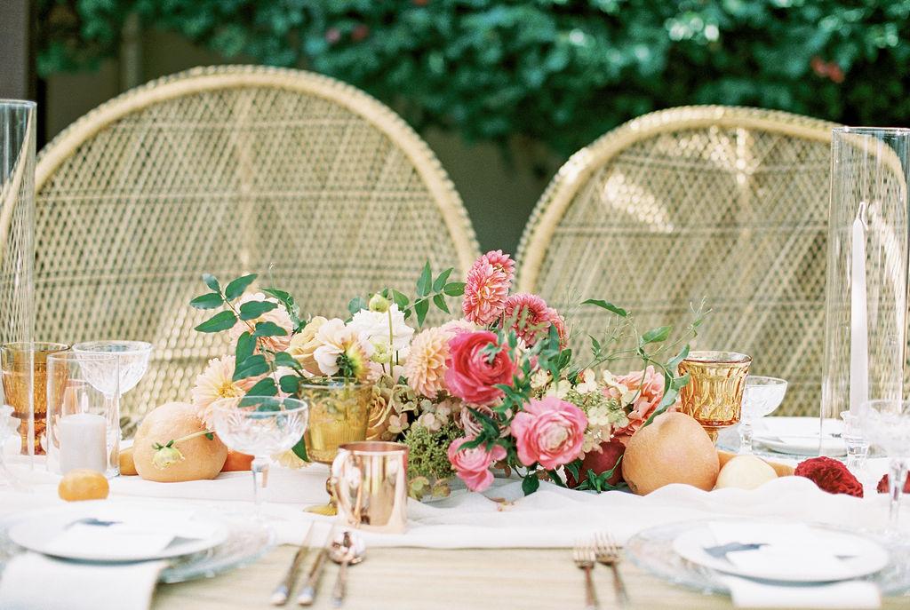 Ro & Co Citrus Wedding -