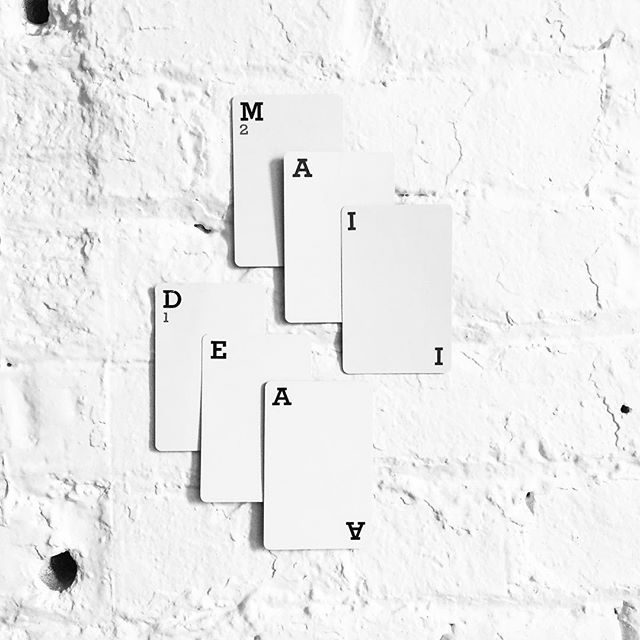 Straight Flush. #maidea #maideamade #snarkitectire #simple #composition #design #selectism #minimalism #art #brooklyn #whiteout