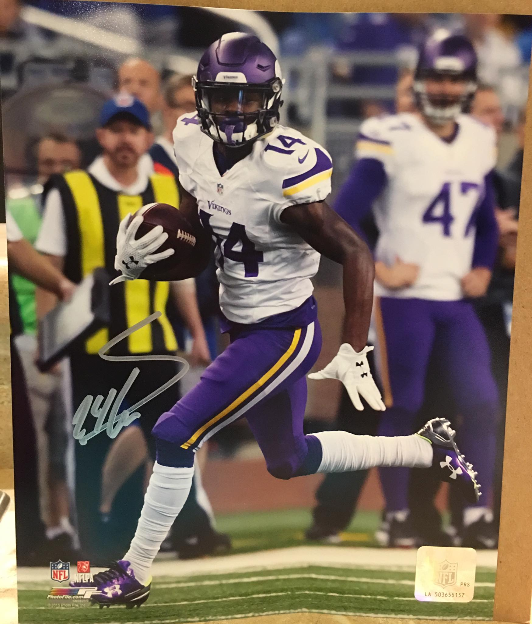 Autographed Photo of Stefon Diggs