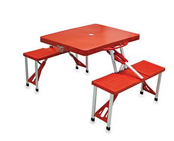 Picnic Time Portable Picnic Table w/ umbrella