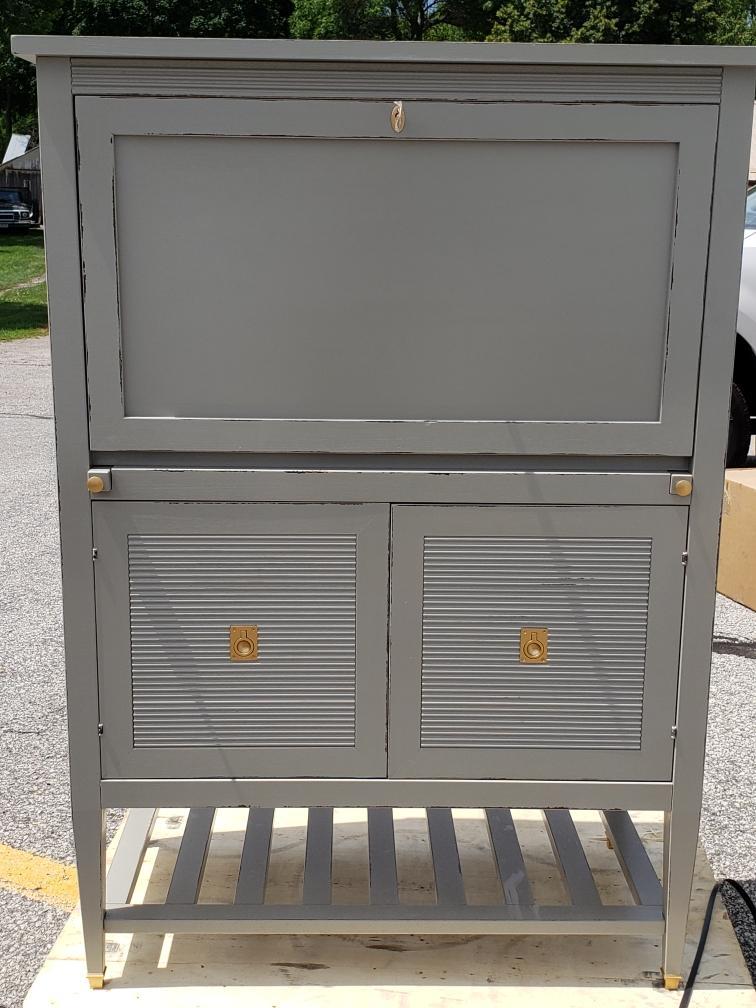 Biaggi bar cabinet for Ballard Designs -