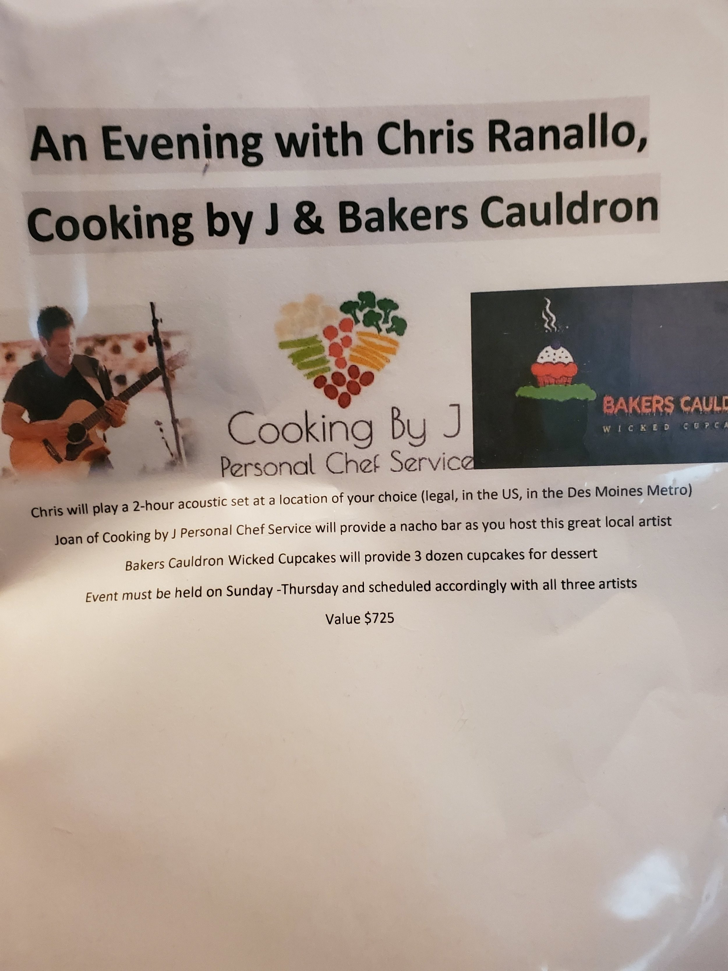 Chris Ranallo & Cooking By J -