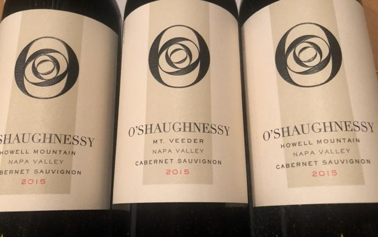 O'Shaughnessy Napa Valley Cabernet Sauvignon – donated by Chris Weaver -