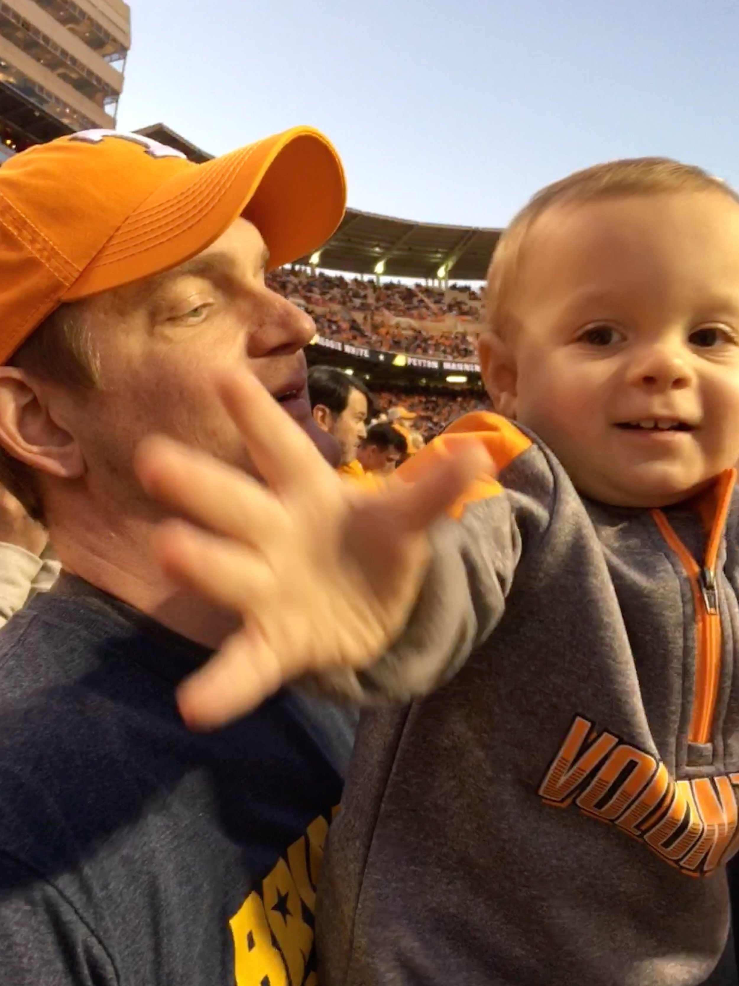 Clyde's First UT Game