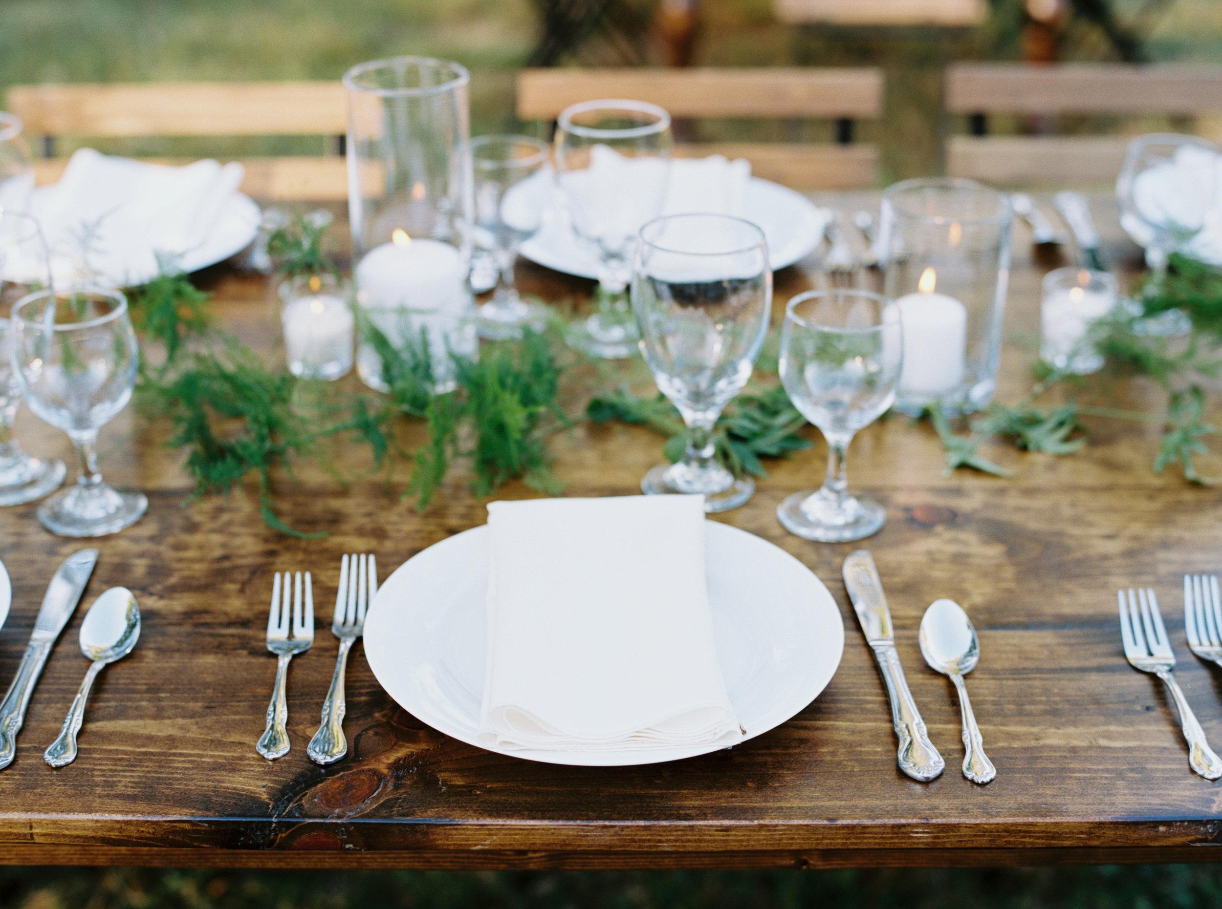 Fall Bloomsbury Farm Wedding - Nashville, TN - Farm Tables